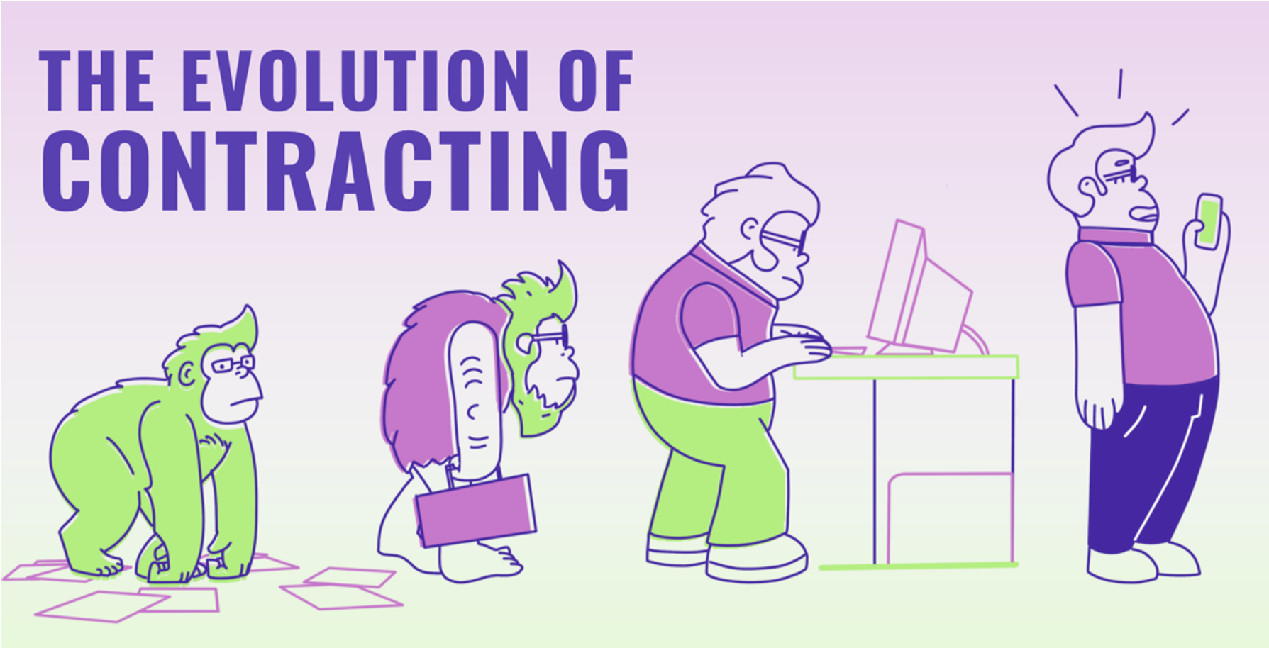 Evolution of Contracting-1