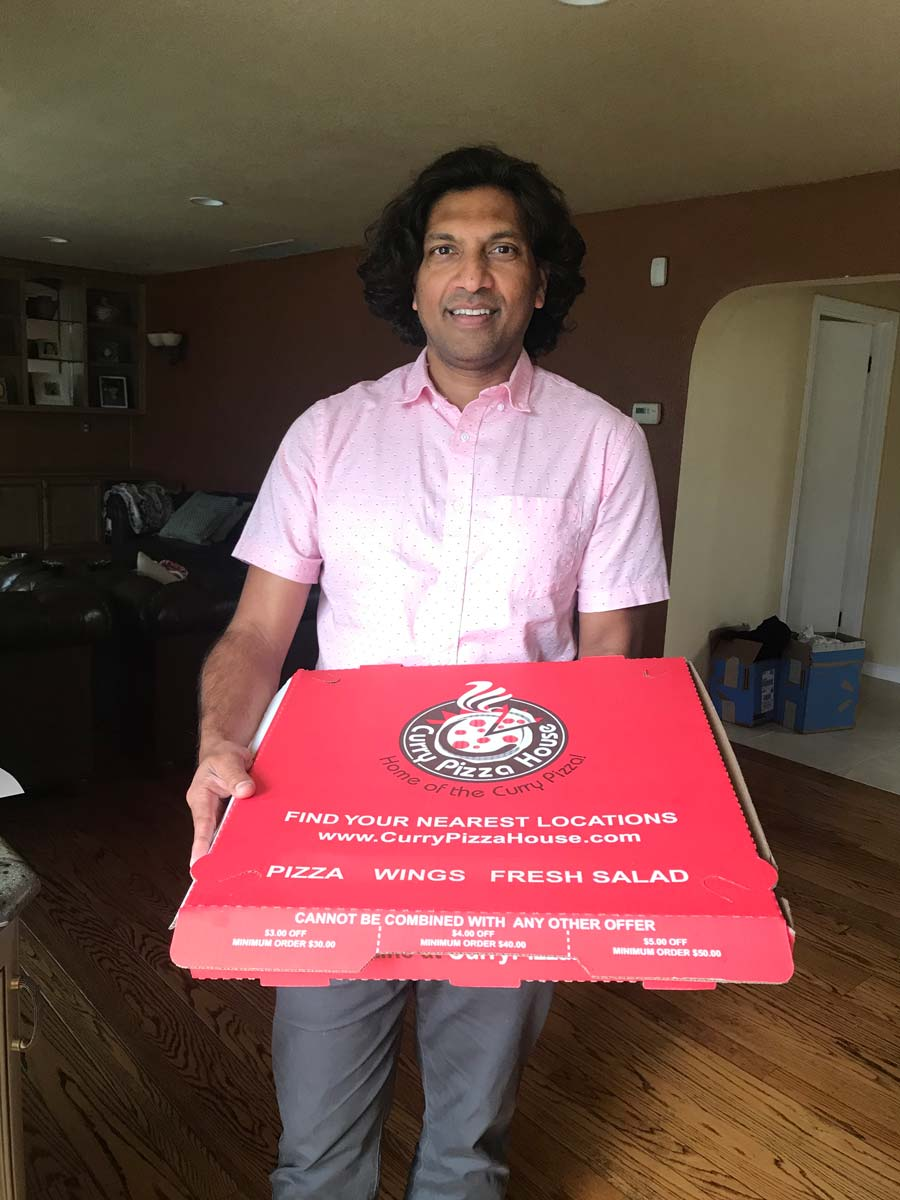 Hemanth Curry Pizza