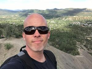 kevin hiking colorado