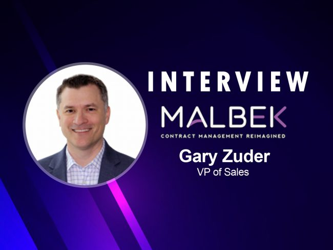 SalesTechStar Interview With Gary Zuder, Vice President Of Sales At Malbek