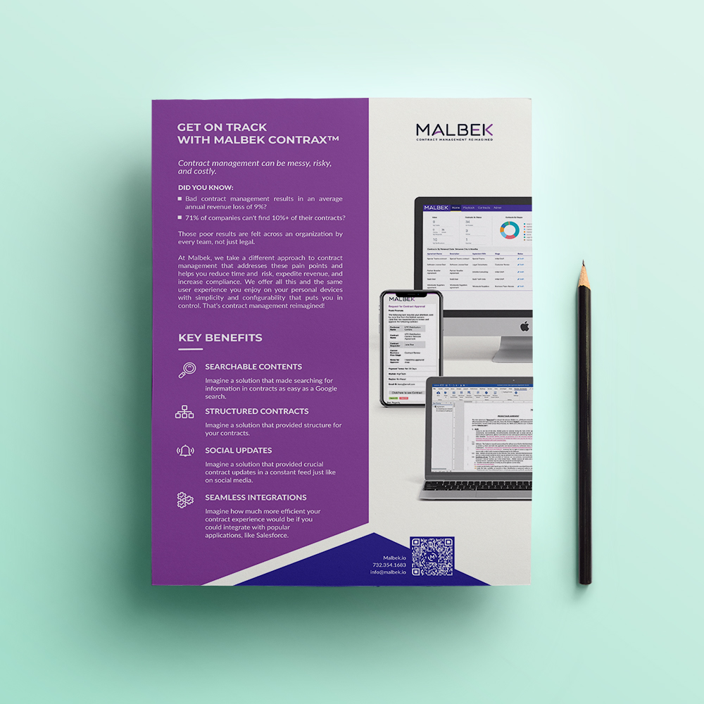 Contract Management System - Malbek Contrax™