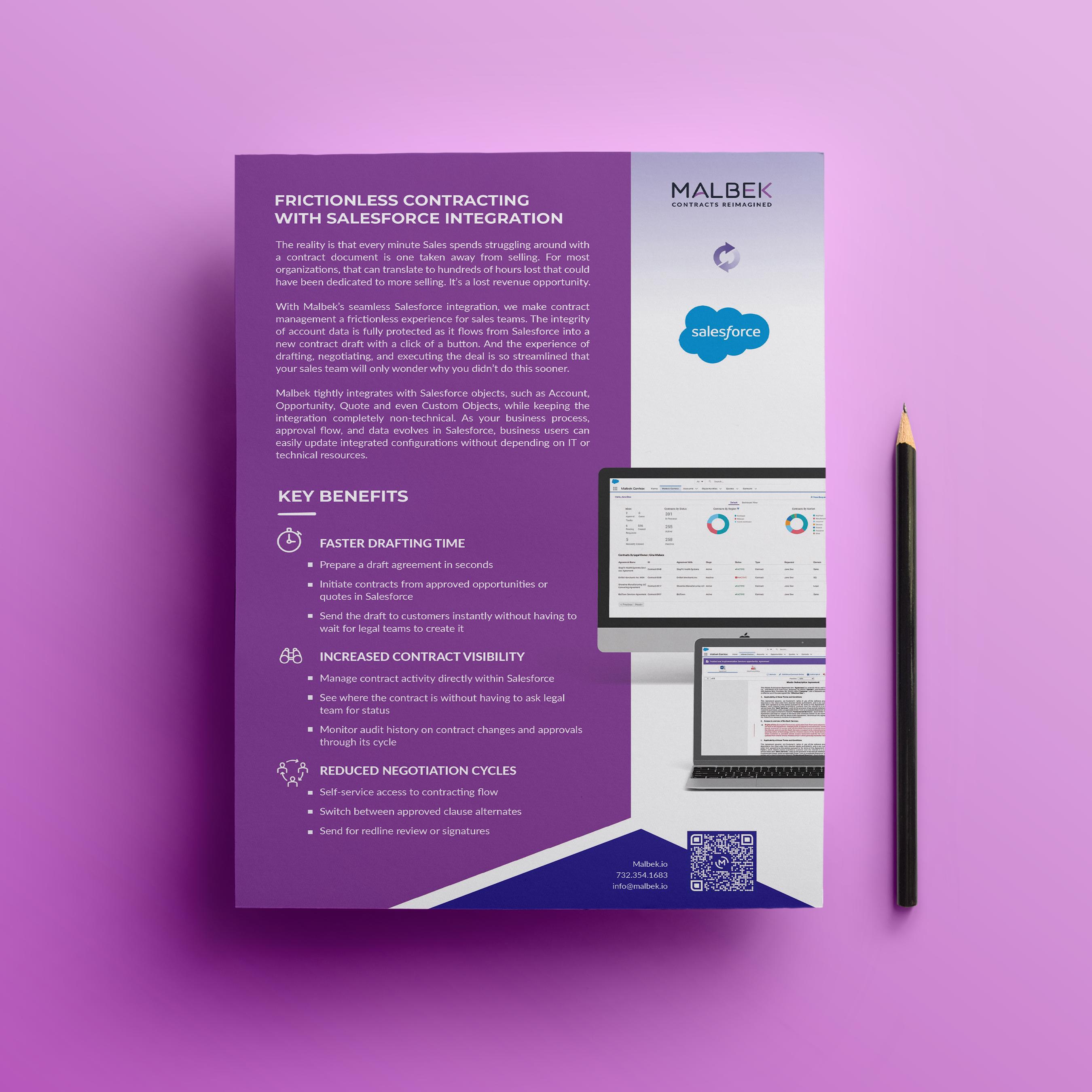Malbek Contract Management Salesforce Integration
